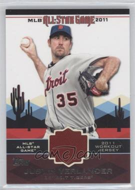 2011 Topps - All-Star Stitches #AS-15 - Justin Verlander