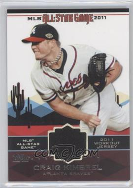 2011 Topps - All-Star Stitches #AS-43 - Craig Kimbrel