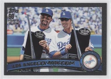 2011 Topps - [Base] - Black #646 - Los Angeles Dodgers Team /60