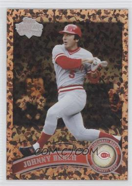 2011 Topps - [Base] - Cognac Diamond Anniversary #198.2 - Johnny Bench (Legends)