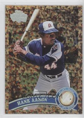 2011 Topps - [Base] - Cognac Diamond Anniversary #510.2 - Hank Aaron (Legends)