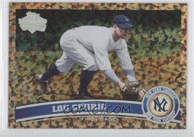 2011 Topps - [Base] - Cognac Diamond Anniversary #5.2 - Lou Gehrig (Legends)