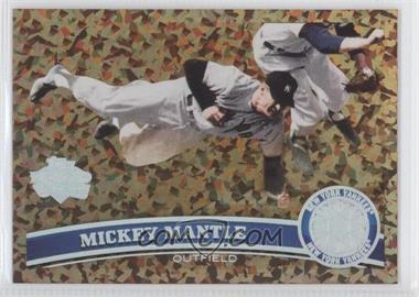 2011 Topps - [Base] - Cognac Diamond Anniversary #7 - Mickey Mantle