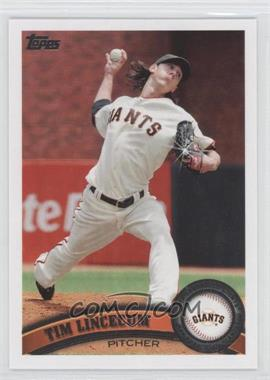 2011 Topps - [Base] - Diamond Sparkle #590 - Tim Lincecum