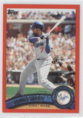 2011 Topps - [Base] - Factory Set Red #305 - James Loney /245