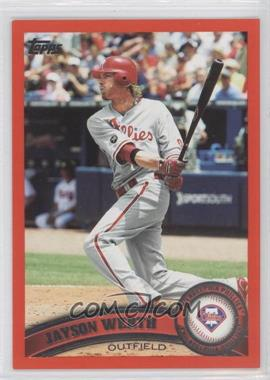 2011 Topps - [Base] - Factory Set Red #325 - Jayson Werth /245