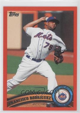 2011 Topps - [Base] - Factory Set Red #486 - Francisco Rodriguez /245