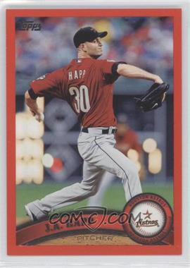 2011 Topps - [Base] - Factory Set Red #499 - J.A. Happ /245