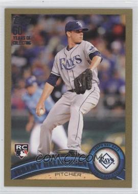 2011 Topps - [Base] - Gold #165 - Jeremy Hellickson /2011