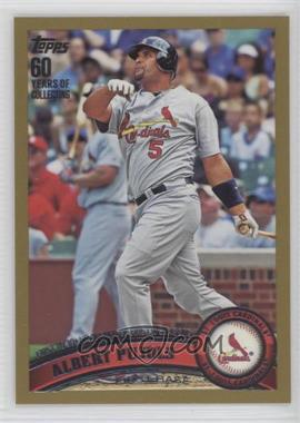 2011 Topps - [Base] - Gold #547 - Albert Pujols /2011