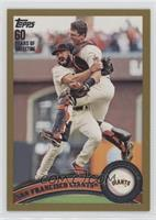 San Francisco Giants (Buster Posey, Brian Wilson) /2011