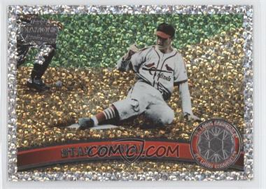 2011 Topps - [Base] - Platinum Diamond Anniversary #100.2 - Stan Musial (Legends)