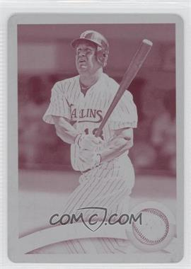 2011 Topps - [Base] - Printing Plate Magenta #557 - Wes Helms /1