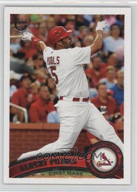 2011 Topps - [Base] - Target Throwback #100 - Albert Pujols