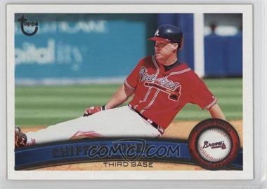 2011 Topps - [Base] - Target Throwback #169 - Chipper Jones