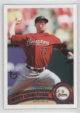 2011 Topps - [Base] - Target Throwback #222 - Matt Lindstrom
