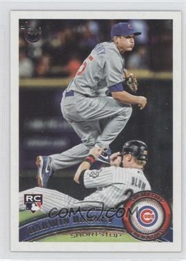 2011 Topps - [Base] - Target Throwback #347 - Darwin Barney