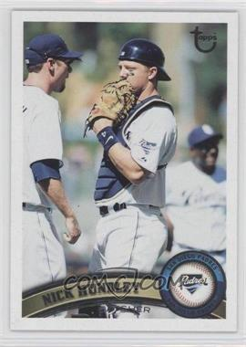 2011 Topps - [Base] - Target Throwback #384 - Nick Hundley