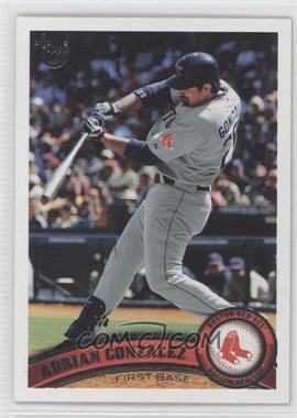 2011 Topps - [Base] - Target Throwback #425 - Adrian Gonzalez