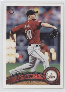 2011 Topps - [Base] - Target Throwback #499 - J.A. Happ