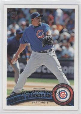 2011 Topps - [Base] - Target Throwback #558 - Carlos Zambrano