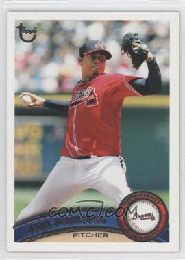 2011 Topps - [Base] - Target Throwback #72 - Jair Jurrjens