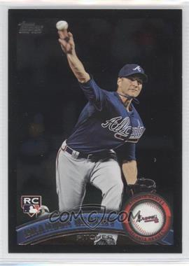 2011 Topps - [Base] - Wal-Mart All-Black #446 - Brandon Beachy