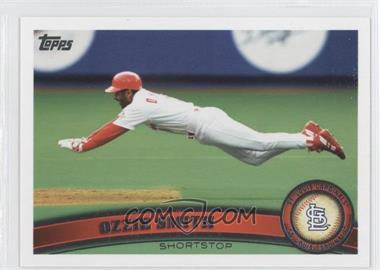 2011 Topps - [Base] #199.2 - Ozzie Smith (Legends)