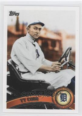 2011 Topps - [Base] #200.2 - Ty Cobb (Legends)
