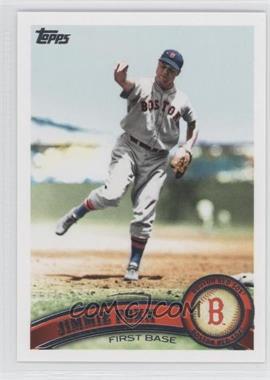 2011 Topps - [Base] #315.2 - Jimmie Foxx (Legends)