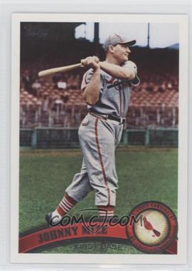 2011 Topps - [Base] #425.2 - Johnny Mize (Legends)