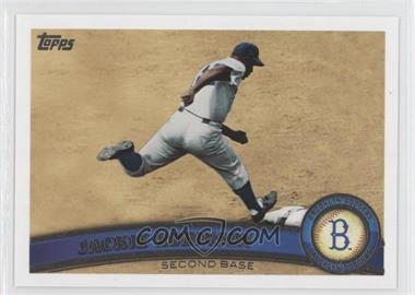 2011 Topps - [Base] #80.2 - Jackie Robinson (Legends)