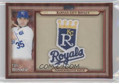 2011 Topps - Blaster Box Throwback Manufactured Patch #TLMP-EH - Eric Hosmer