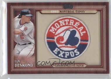 2011 Topps - Blaster Box Throwback Manufactured Patch #TLMP-ID - Ian Desmond
