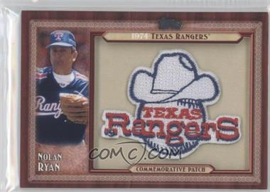 2011 Topps - Blaster Box Throwback Manufactured Patch #TLMP-NRV.1 - Nolan Ryan (Texas Rangers)