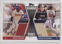 Ryan Howard, Jason Heyward /50