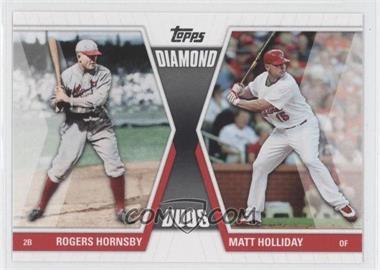 2011 Topps - Diamond Duos Series 1 #DD-HHO - Rogers Hornsby, Matt Holliday