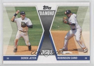 2011 Topps - Diamond Duos Series 1 #DD-JC - Derek Jeter, Robinson Cano