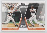 Reggie Jackson, Adam Jones