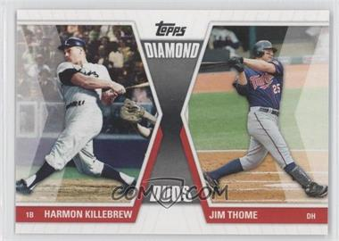 2011 Topps - Diamond Duos Series 1 #DD-KT - Harmon Killebrew, Jim Thome