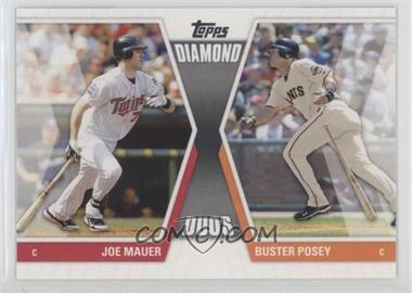 2011 Topps - Diamond Duos Series 1 #DD-MP - Buster Posey, Joe Mauer
