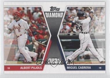 2011 Topps - Diamond Duos Series 1 #DD-PC - Albert Pujols, Miguel Cabrera
