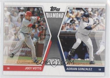 2011 Topps - Diamond Duos Series 1 #DD-VG - Joey Votto, Adrian Gonzalez