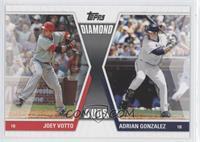 Joey Votto, Adrian Gonzalez