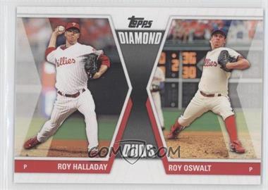 2011 Topps - Diamond Duos Series 2 #DD-1 - Roy Halladay, Roy Oswalt