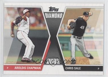 2011 Topps - Diamond Duos Series 2 #DD-13 - Aroldis Chapman, Chris Sale