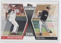 Aroldis Chapman, Chris Sale