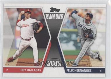 2011 Topps - Diamond Duos Series 2 #DD-18 - Roy Halladay, Felix Hernandez