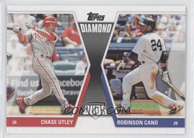 2011 Topps - Diamond Duos Series 2 #DD-2 - Chase Utley, Robinson Cano
