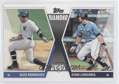 2011 Topps - Diamond Duos Series 2 #DD-26 - Alex Rodriguez, Evan Longoria